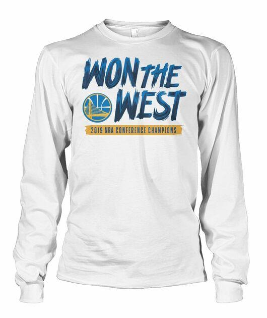 NBA golden states warriors won the west shirt