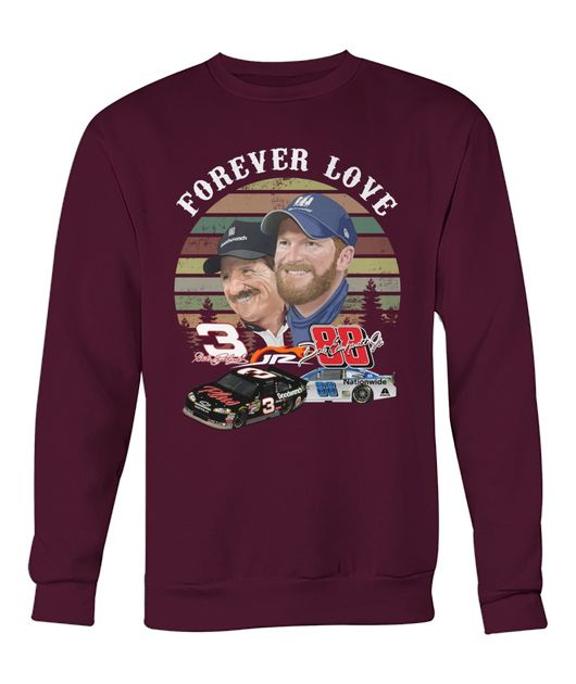 Vintage forever love 3 jr 88 goodwrench and nationwide shirt
