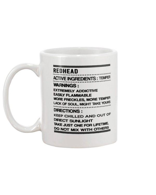 RedHead Active Ingredients Temper mug