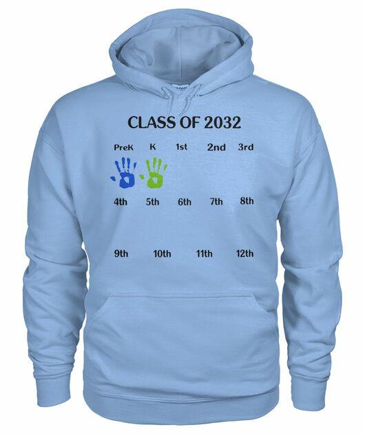 Class of 2032 grow with me shirt