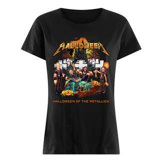 Halloween of the metallica shirt
