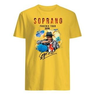 Soprano phoenix tour 2019 signature shirt