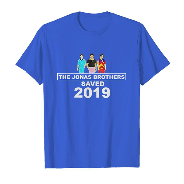 The Jonas brothers saved 2019 shirt