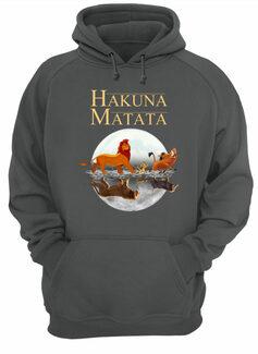 The lion king hakuna matata simba timon and pumba reflection shirt