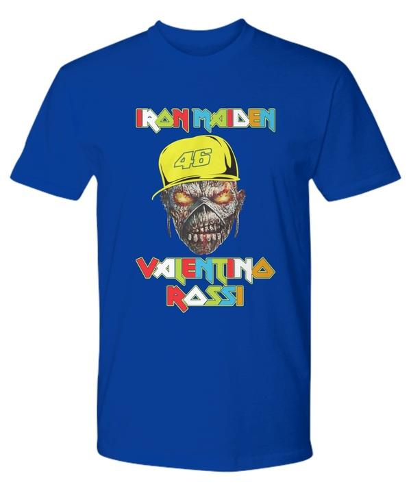 Iron Maiden Valentino Rossi 47 Premium Shirt