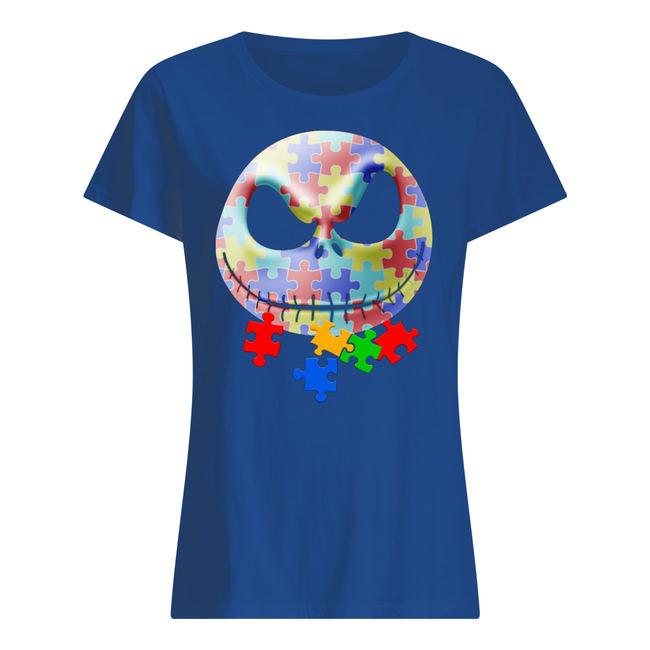 Jack skellington autism awareness shirt