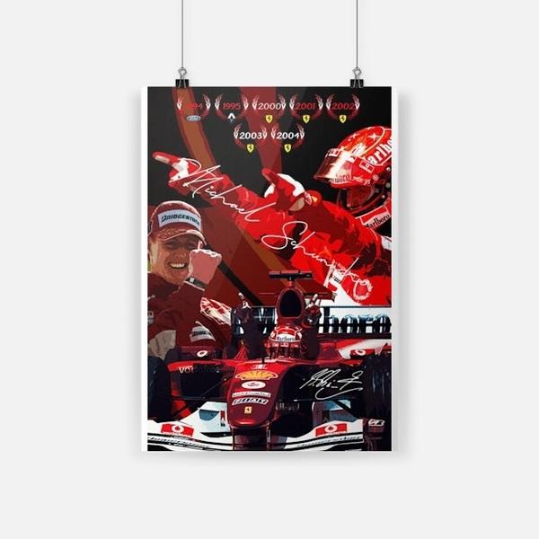 Michael Schumacher Ferrari F1 small poster