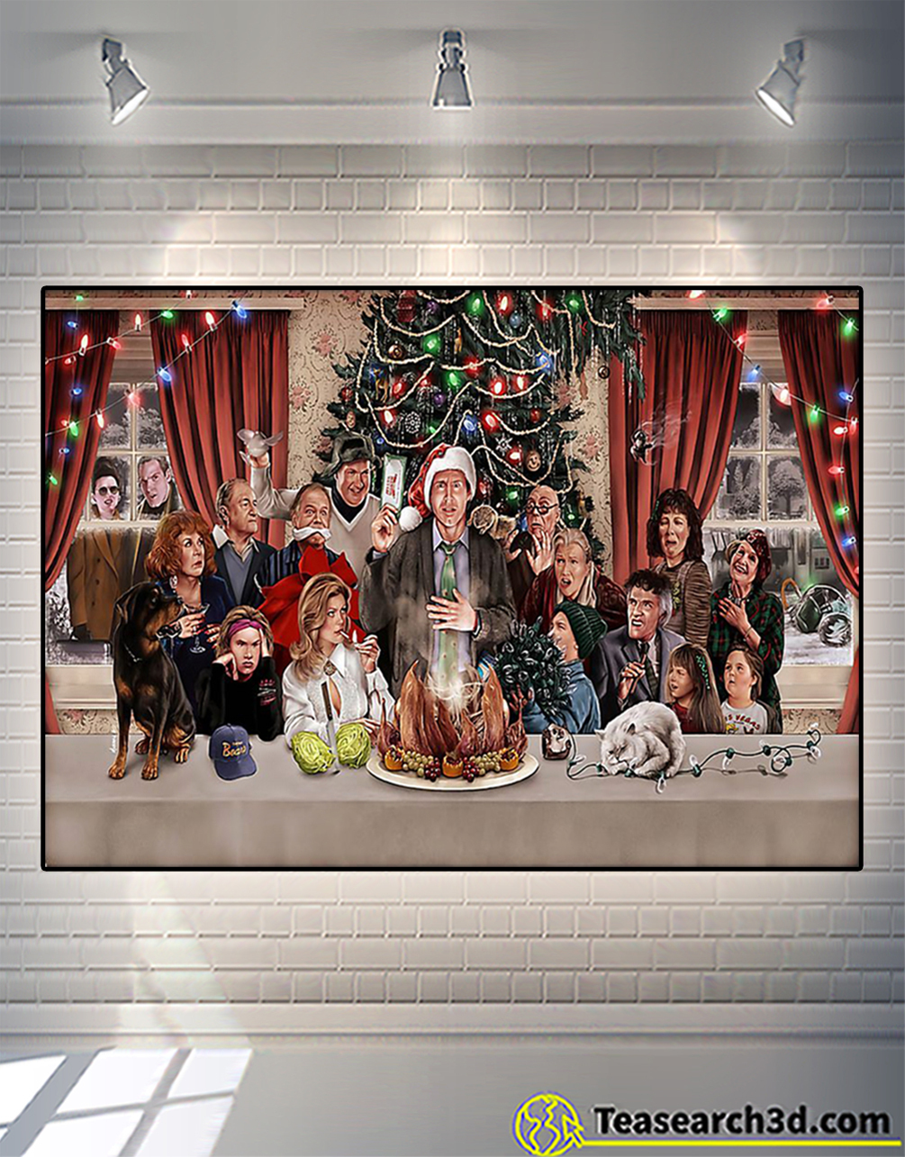 National lampoon_s christmas vacation poster