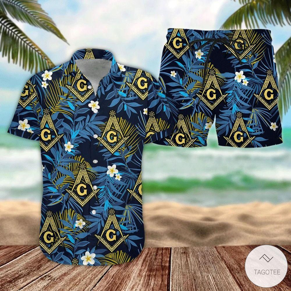 Freemasonry-Tropical-Shirt-And-Short