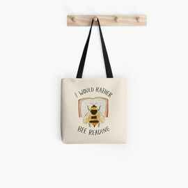 Top collection  book lovers reading i would rather bee reading tote bag