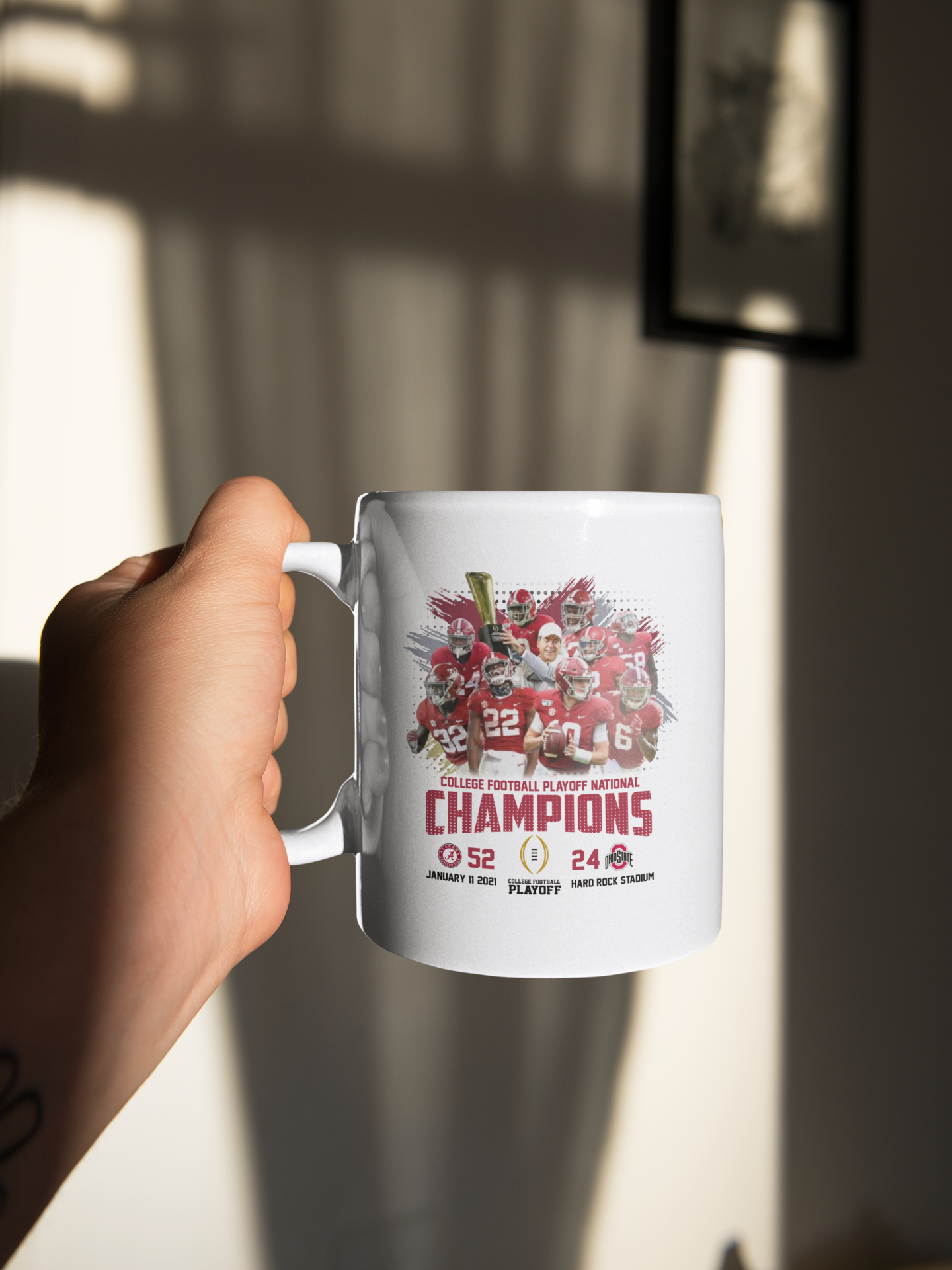 College football playoff national championship mug