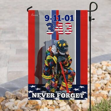 Top collection firefighter never forget american all over print flag