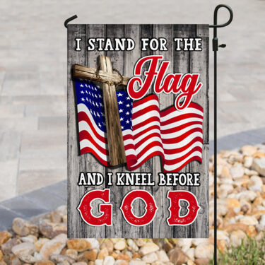 Top collection i stand for the flag and i kneel before God american flag all over print flag