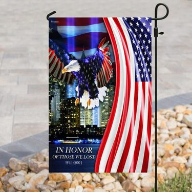 Top collection in honor of those we lost 9 11 2001 all over print flag
