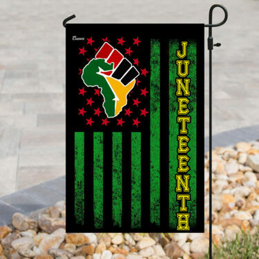 Top collection juneteenth african american flag all over printed flag