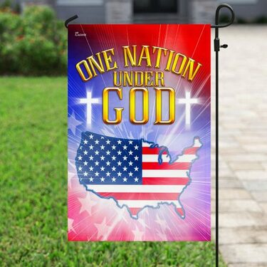 Top collection one nation under God love american flag all over print flag