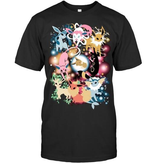 eevee evolution pokemon lover shirt